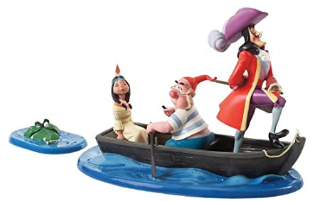captain hook mr smee tiger lily and crocodile an irresistible