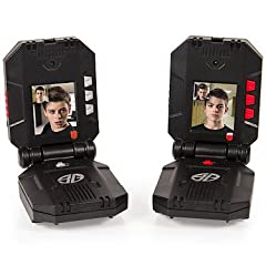 Keep teamwork and surveillance in check as you complete missions with Spy Gear Video Walkie Talkies! Only Spy Gear has the spy technology to let you stay in constant 2-way, visual and audio communication. No data or Wi-Fi required! Just press...