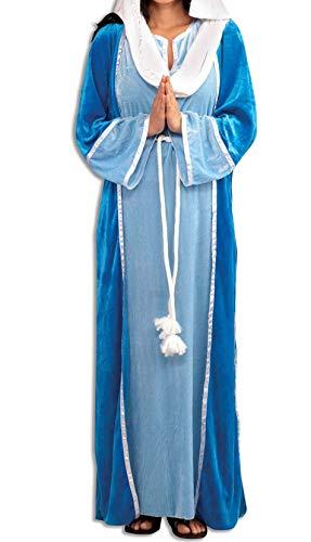 Forum Novelties Women's Deluxe Biblical Virgin Mary Costume, Blue, Standard