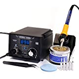 YIHUA 939D+ Professional 75W Digital Soldering Iron Station ESD SAFE Lead Free °F /°C
