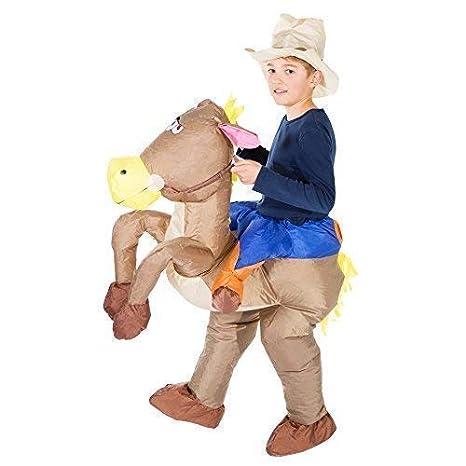 Bodysocks® Disfraz Hinchable de Vaquero Niño: Amazon.es: Juguetes ...