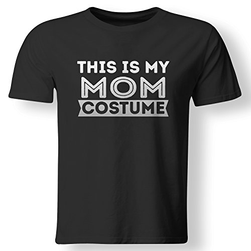[This Is My Mom Costume Lazy Halloween Mother T Shirt Black XXX-Large] (Mom Dad And Child Halloween Costumes)