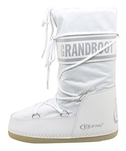 22 Boot 20 Uomo Grandboot Taglia Kefas Donna Bianco Bambino Doposci BwzxqT