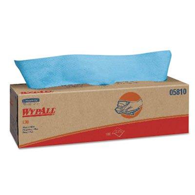 KCC05810 - Wypall L30 Wipers, Pop-up Box, 16 2/5 X 9 4/5, Blue, 100/box