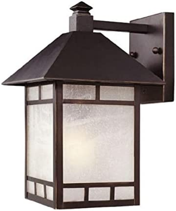 Acclaim 9012ABZ One Light Outdoor Wall Mount, Architectural Bronze