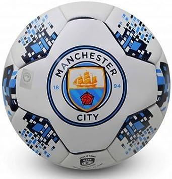 Nuevo escudo del Manchester City tamaño 5 balón de fútbol: Amazon ...