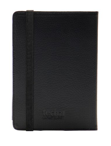 Tech21 D3O Impact Book Folio Leather Case For 4Th Generation Kindle - Black