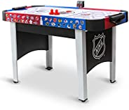 Mid-Size NHL Rush Indoor Hover Hockey Game Table; Easy Setup, Air-Powered Play with LED Scoring