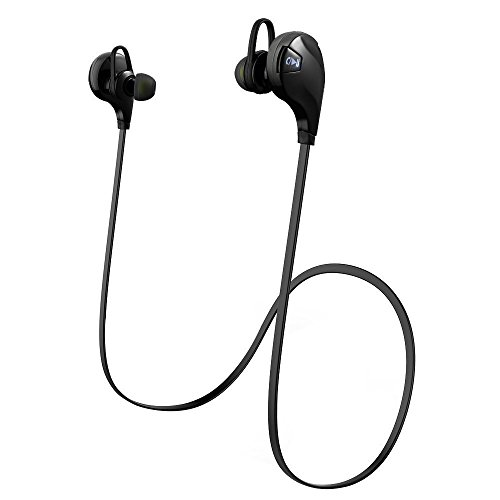 Habor Bluetooth Headphone V4.0, Bluetooth Wireless Sport Headphones with Microphone for Bluetooth-enabled Android IOS Smart Cell Phones
