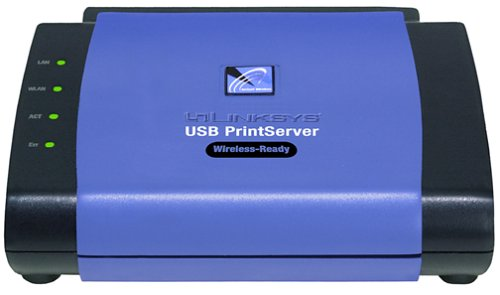 Cisco-Linksys PPS1UW EtherFast Wireless-Ready USB PrintServer by Linksys
