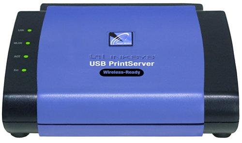 Cisco-Linksys PPS1UW EtherFast Wireless-Ready USB PrintServer by Linksys
