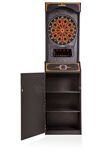 Arachnid Cricket Pro 650 Standing Electronic Dartboard with 24 Games, 132 Variations,...