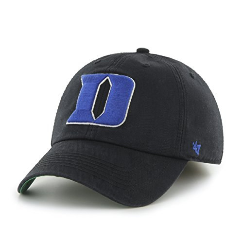 ['47 NCAA Duke Blue Devils Franchise Fitted Hat, Black, Large] (Blues Brothers Hat)