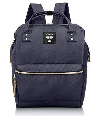 Anello Official Blue Japan Fashion Shoulder Rucksack Backpack Hand Carry Tablet Diaper Bag Unisex
