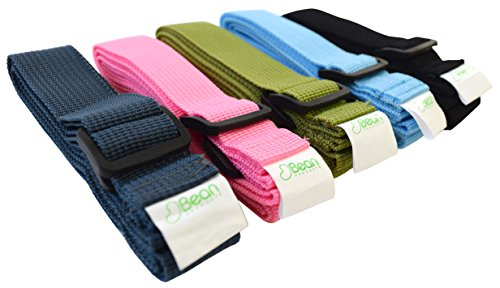 Bean Yoga Mat Sling Harness Extra Long Cotton - Olive