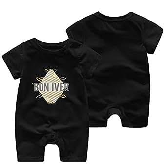 wangsiwe bon iver infant boy girl short sleeve jumpsuit summer outfits clothing. Black Bedroom Furniture Sets. Home Design Ideas