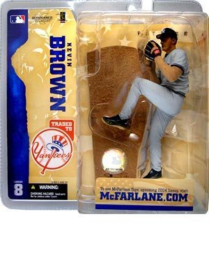 McFarlane Toys MLB Sports Picks Series 8 Action Figure Kevin Brown (Los Angeles Dodgers) Dodgers Variant ()