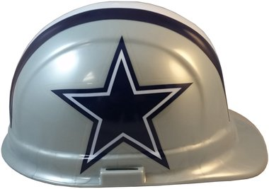 Texas American Safety Company NFL Dallas Cowboys Hard Hats with Ratchet Suspension 2