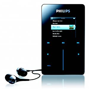 Philips HDD 6320 - Reproductor MP3 - Negro