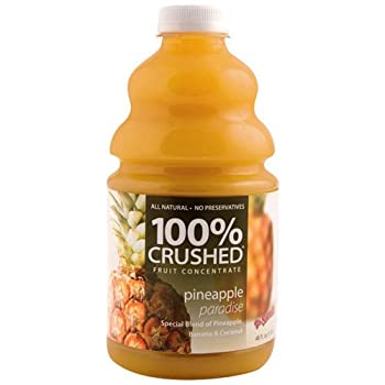 Dr. Smoothie Smoothie Mixes 100% Crushed Pineapple Paradise