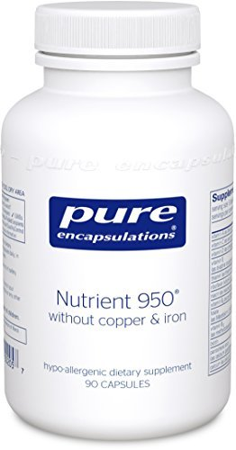 Pure Encapsulations - Nutrient 950 without Copper & Iron - Hypoallergenic Multi-vitamin/Mineral Formula for Optimal Health* - 90