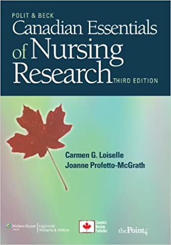 Canadian Essentials Of Nursing Research 9781605477299