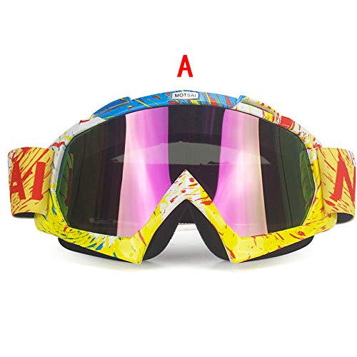 Amazon.com: FelixStore Motocross Goggles Glasses Ski Sport Gafas for Dirt Bike Racing Goggles Protective Glasses Snowboard Men Outdoor Gafas Casco: Kitchen ...