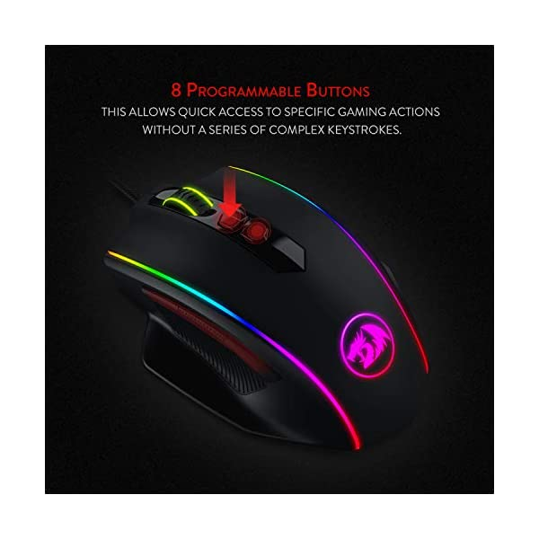 Best Redragon M720 Vampire Rgb Gaming Mouse