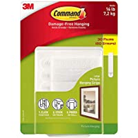 Command Damage Free Picture and Frame Hanging, Large...