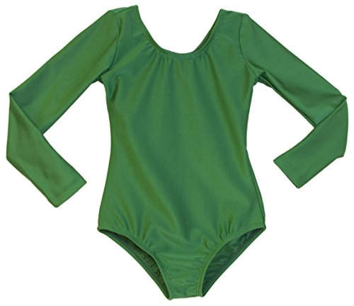 Girl's Dance Leotard Kelly Green (8-10, Kelly Green) (Recital Dance Costumes Girls)