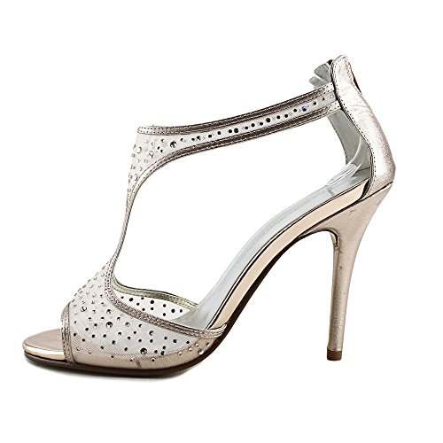 Gold Sandales Talon Caparros À Hope Rose Metallic Femmes HY8PS4