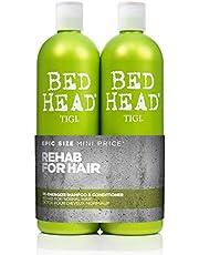 Tigi Bed Head Urban Antidotes Re-Energize Tween, Champú y acondicionador. 750 ml, pack de 2 unidades