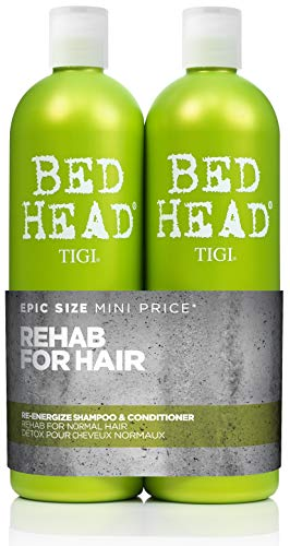 TIGI Bed Head Urban Antidotes Re-Energize Shampoo 25.36 oz (Pack of 2)
