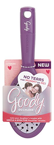 Goody 1943556 Girls Ouchless Purse Hair Brush, Assorted Colors (Pack of -