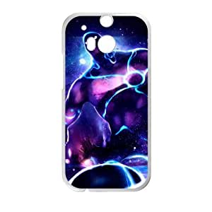 HTC One M8 White phone case Enigma Dota 2 DOT5275001
