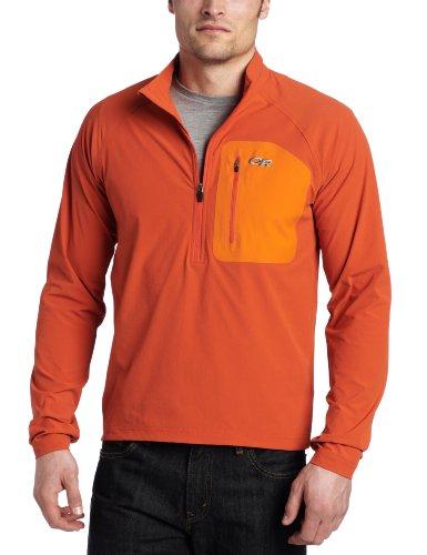 Outdoor Research Men's Ferrosi Wind Shirt, Diablo/Ember, Medium