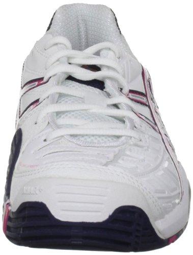 Asics - Zapatillas GEL CHALLENGER, tamaño 43,5 UK, color blanco Weiß (White/Magenta/Eclipse 0121) (Weiß (White/Magenta/Eclipse 0121))