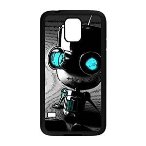 Cute Seated robot Cell Phone Case for Samsung Galaxy S5 by icecream design