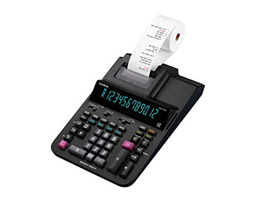 Casio Office Products DR-270R Heavy-Duty Printing Calculator, Black by Casio Office Products (Image #2)