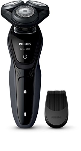 Philips Series 5000 Waterproof Men's Electric Shaver S5270/06 with Precision Trimmer (UK 2-Pin Bathroom Plug)