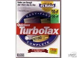 Quicken TurboTax - Federeal Return Tax Year 1999