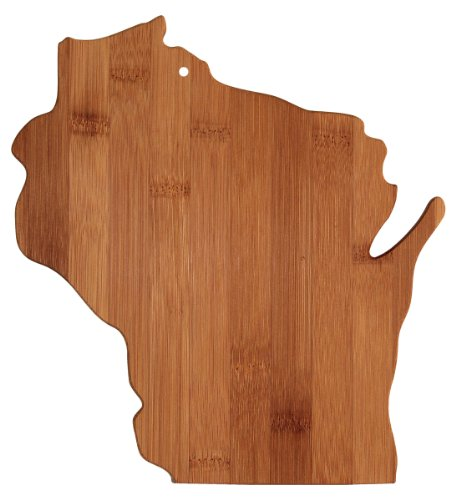 Shaped Bamboo Cutting Board - 1
