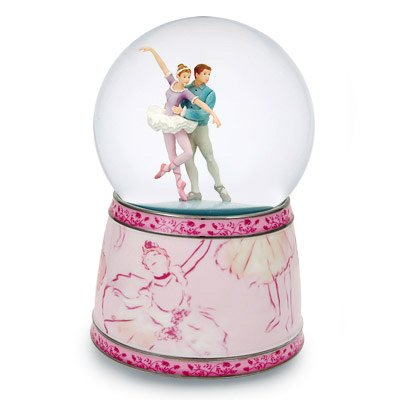 Amazing Ballet Couple Musical Snow (Water) Globe from Twinkle -
