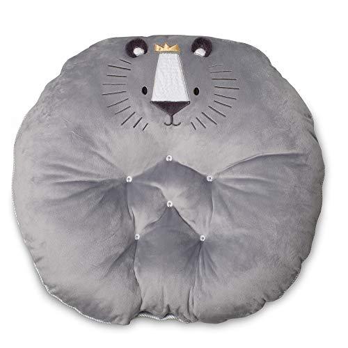 Boppy Preferred Newborn Lounger, Gray Royal Lion (Lounger Love)