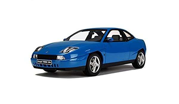 Amazon.com: OttOmobile otto 1/18 Fiat Coupe Turbo 20V (Blue) 1997 Fiat Coupe: Toys & Games