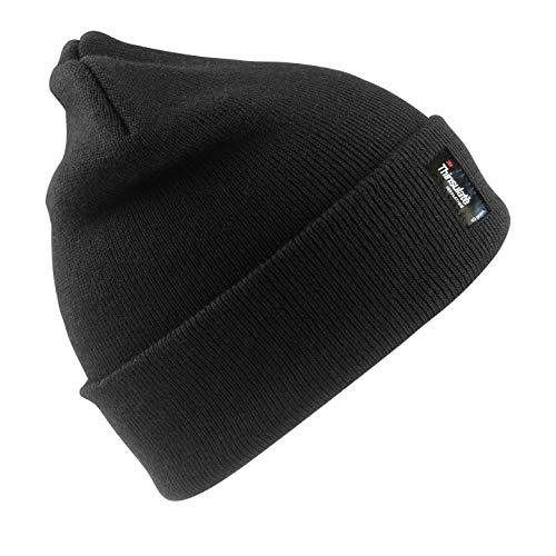 Rc033x Nero Result Sci Antipioggia Invernale Cappellino Da Thinsulate Cappello Chemagliette qg8zZ