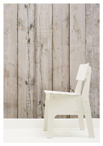 (Scrapwood Wallpaper by Piet Hein Eek 900 x 48.7 cm 1-Roll Non-Woven Back Wallpaper, Beige)