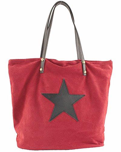 Rouge Femme Porté Sac Cuir SA127023GO Calypso noir histoireDaccessoires Epaule AHqFawn
