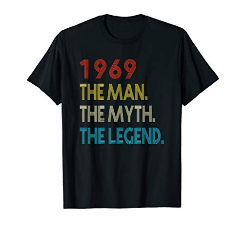 Mens The Myth The Legend 1969 50th Birthday Gifts 50 years old ()