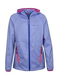 Marmot Ether Girls' Lightweight Hooded Windbreaker Jacket